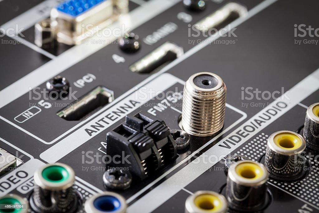 Audio Equipment stock photo