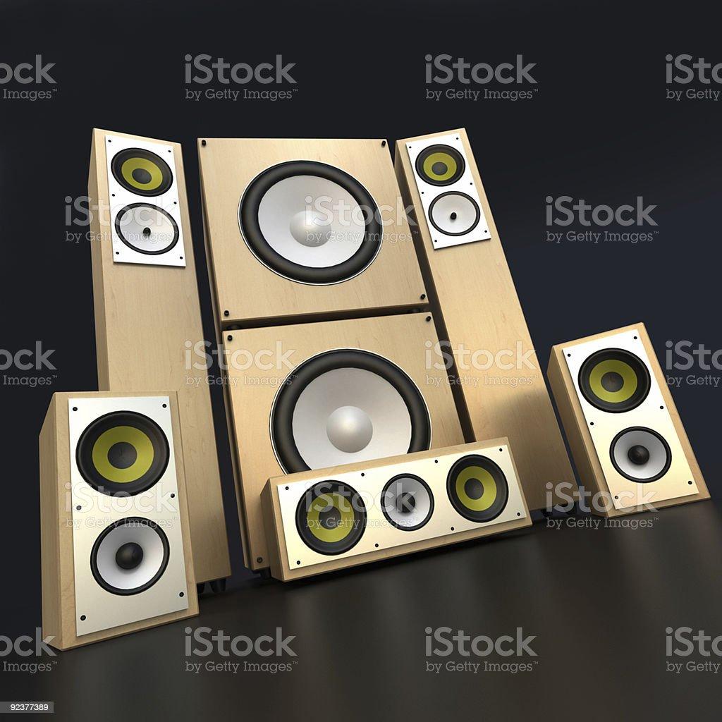 Audio equipment royalty-free stock photo