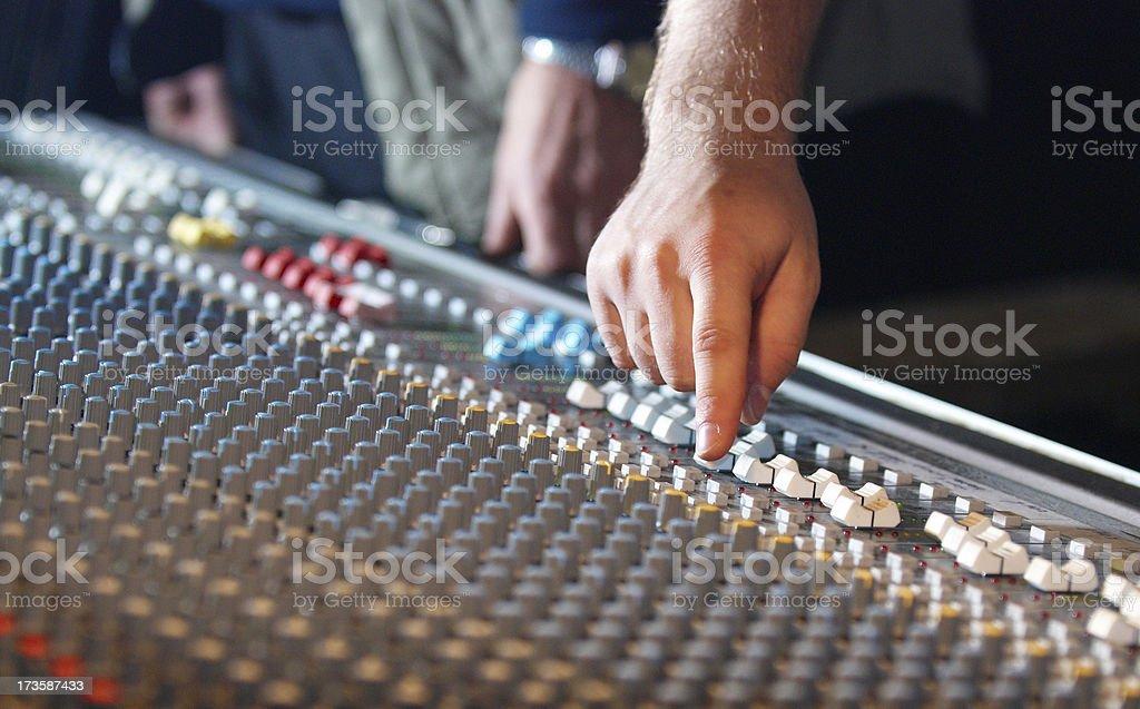 audio man royalty-free stock photo