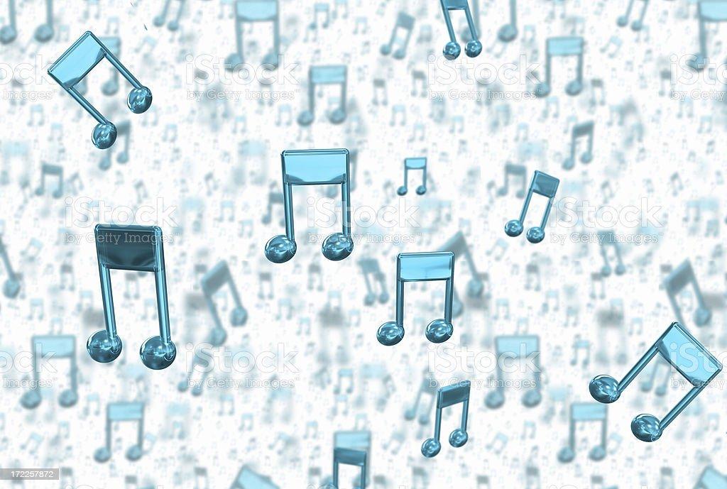 Audio Note royalty-free stock photo
