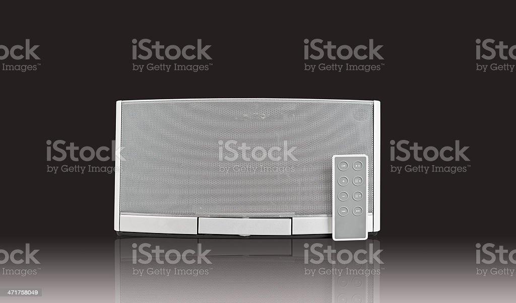 audio speaker royalty-free stock photo