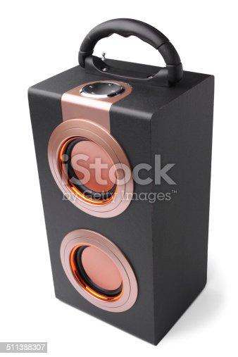 istock Audio speaker 511388307