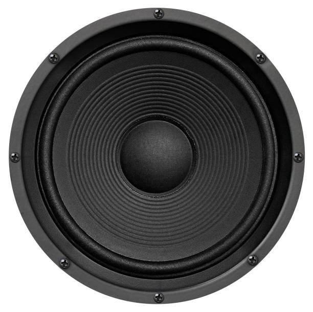audio speaker - altoparlante hardware audio foto e immagini stock