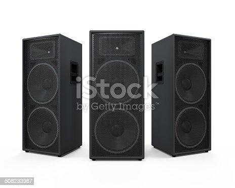 istock Audio Speakers Isolated 508233987