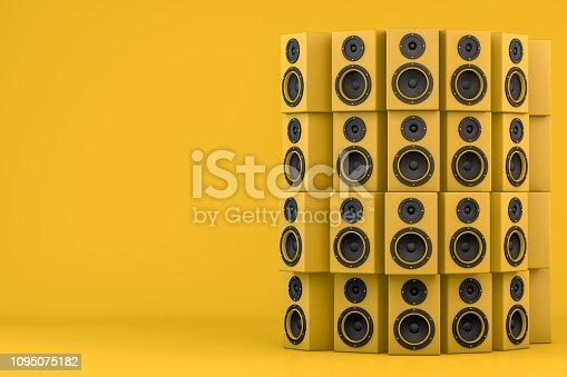 istock Audio Speakers 1095075182
