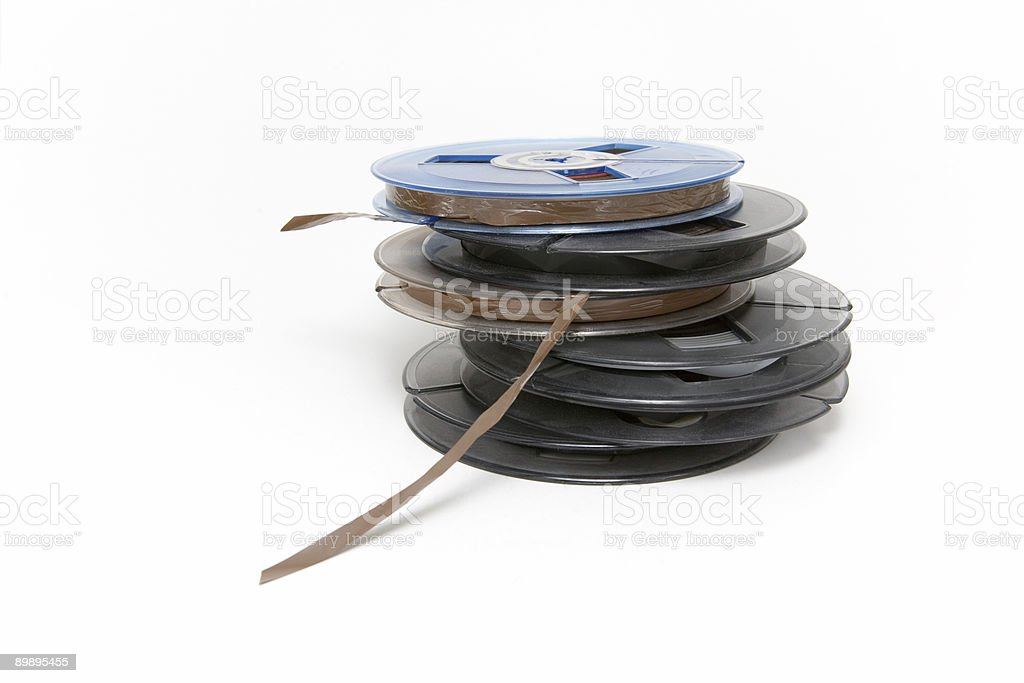 Audio Tapes royalty-free stock photo