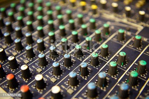 audio tone master and sound mixer board