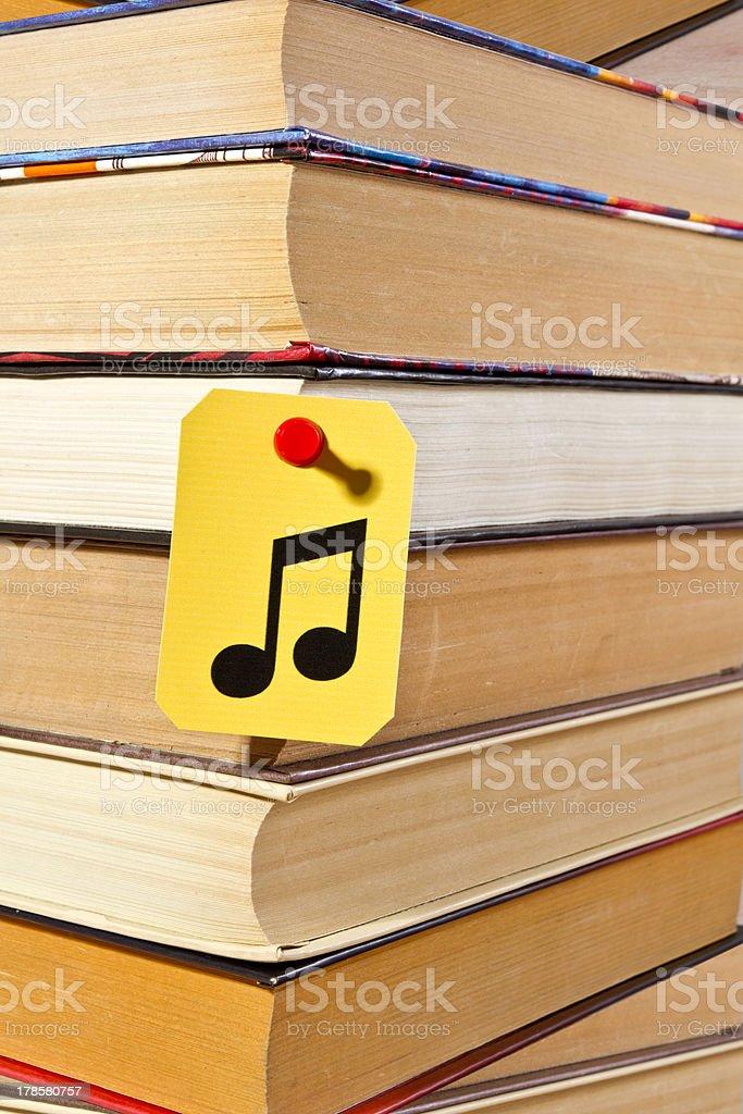 Audiobook background stock photo