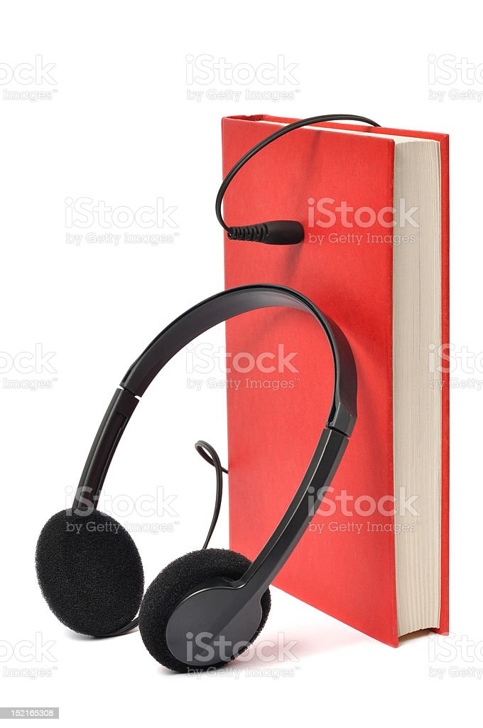 Audiobook stock photo