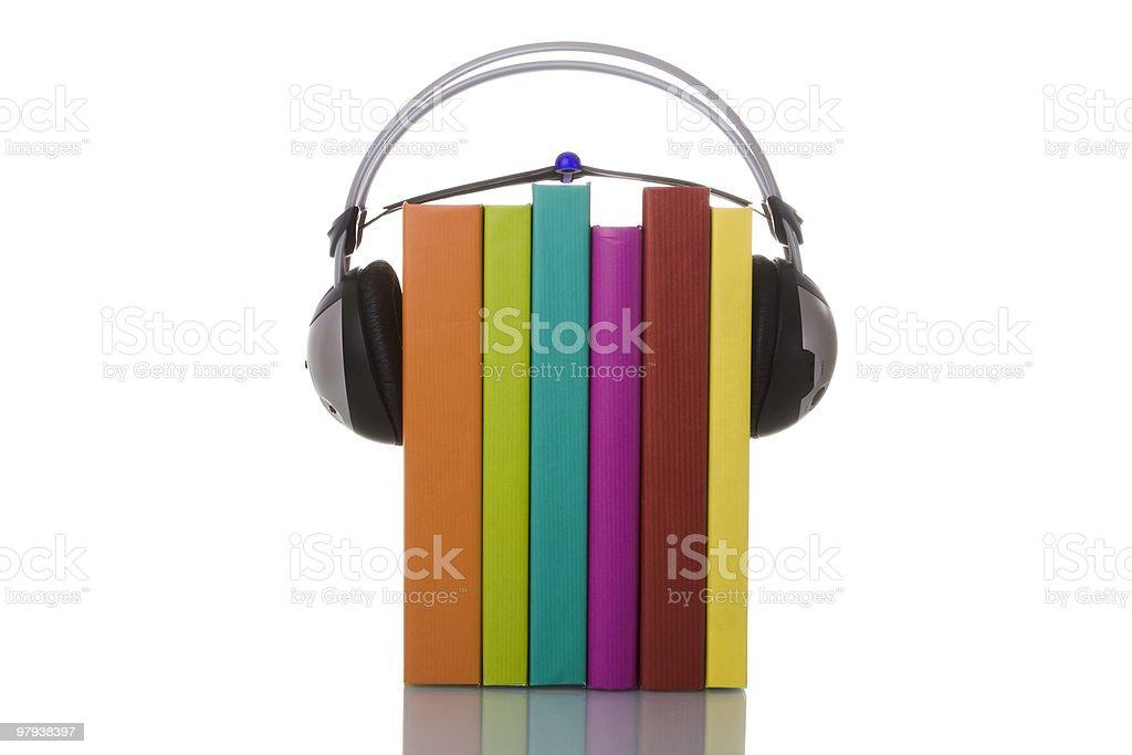 Audiobooks royalty-free stock photo