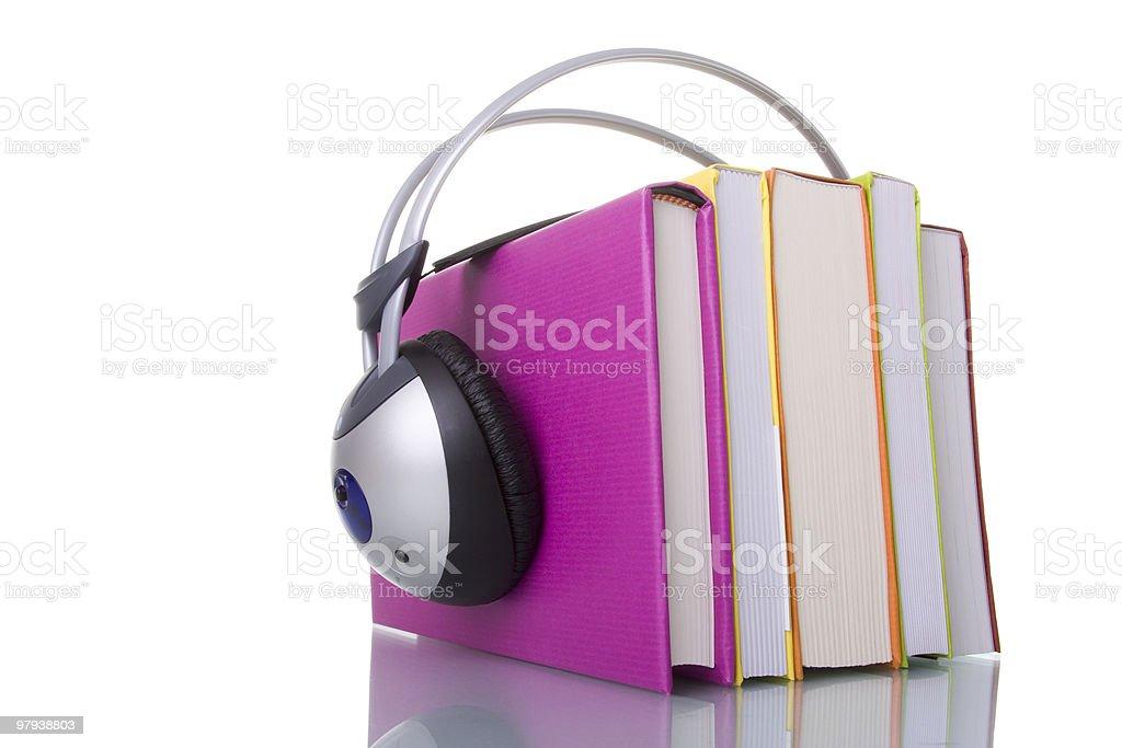 Audiobooks stock photo