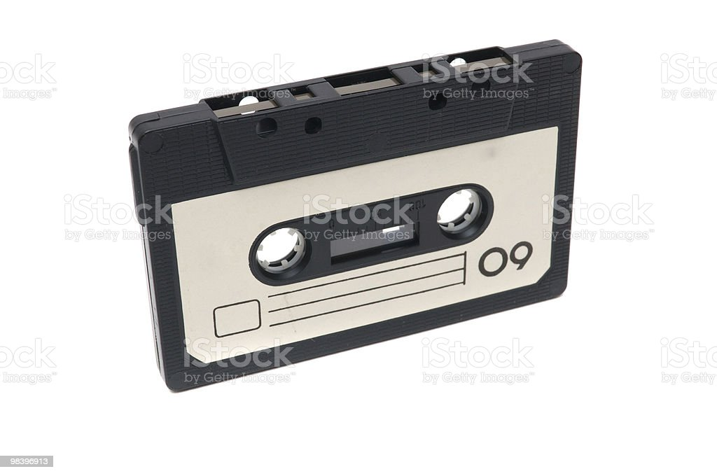 audiocassette royalty-free stock photo