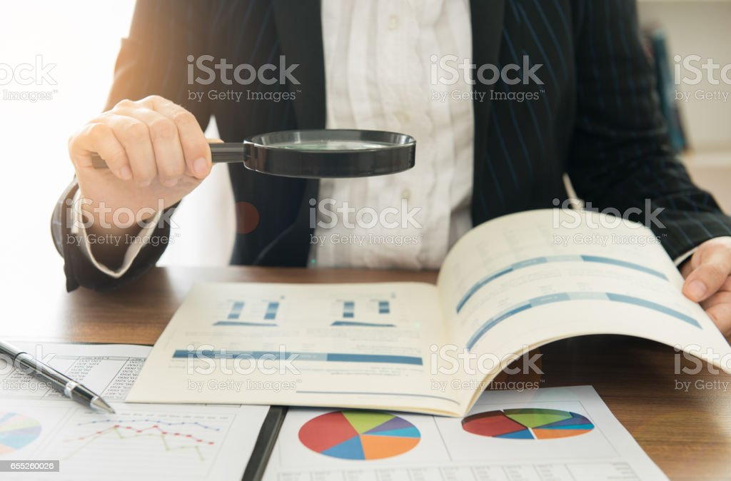 auditing stock photo