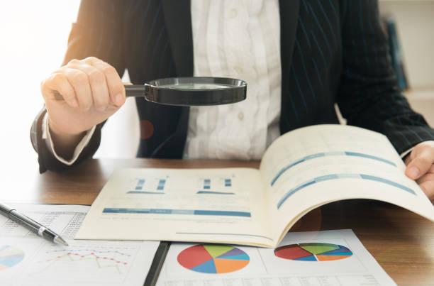 auditing stock photo