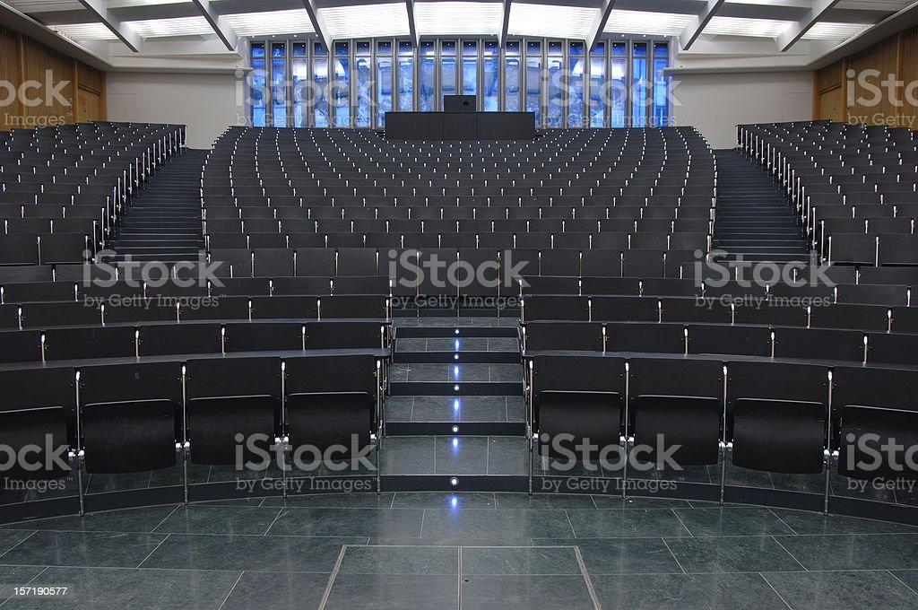 auditorium 3 stock photo