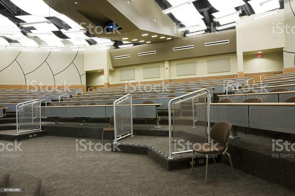 Auditorium at Community College royalty-free stock photo