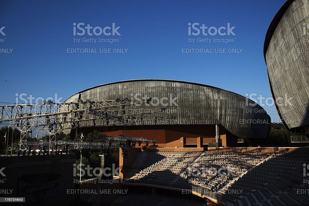Auditorium parco della musica royalty-free stock photo