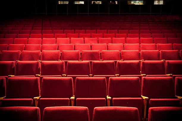 auditorium - posto a sedere foto e immagini stock