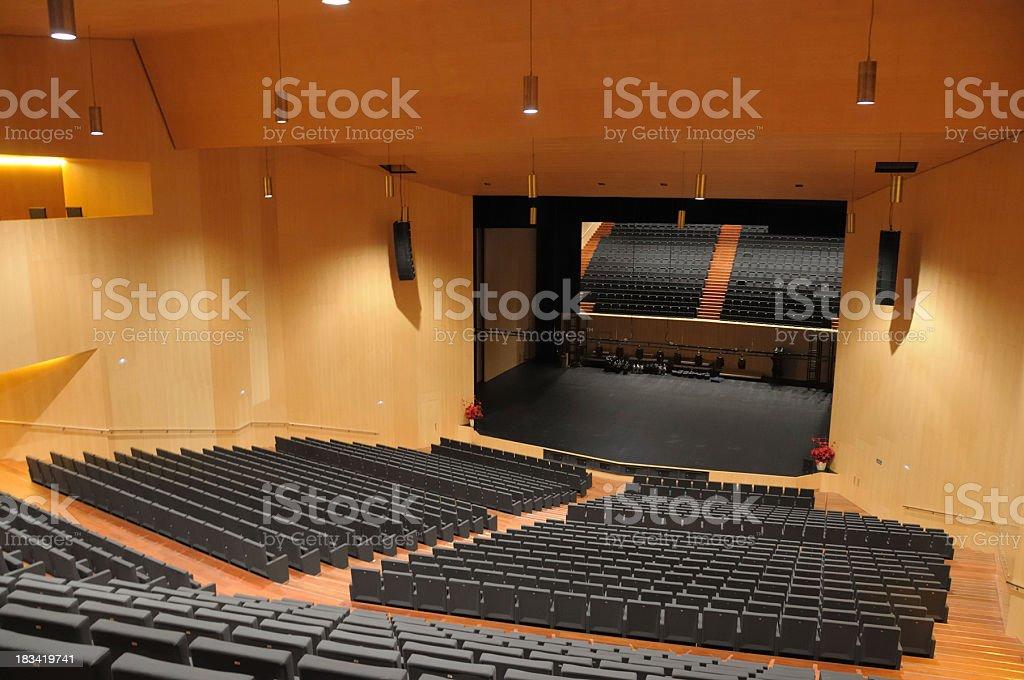 Empty auditorium.