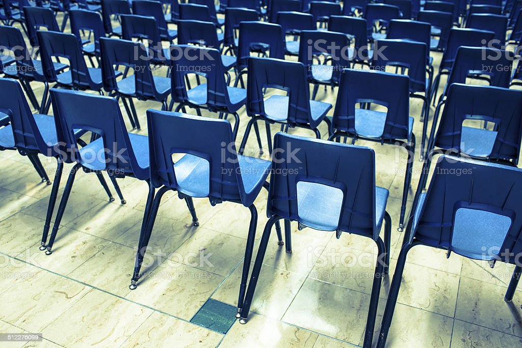 Seating in an auditorium