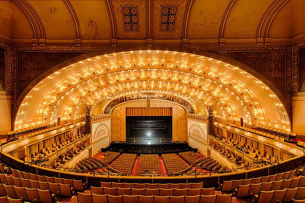 Auditorium Theatre stock photo