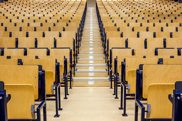 auditorium whit stairs – Foto