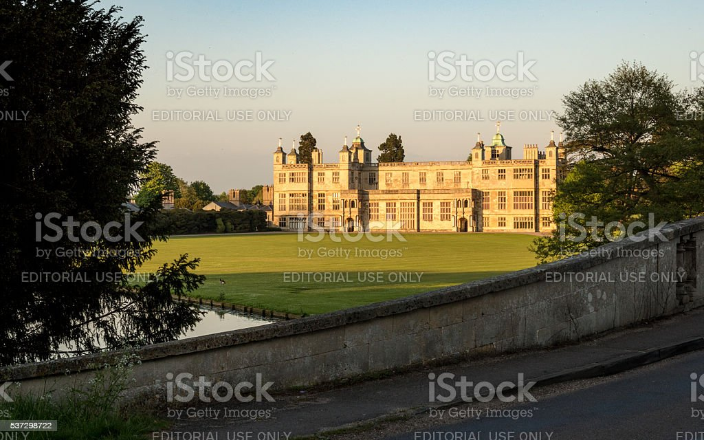 Audley End House, Saffron Walden, Essex, England stock photo