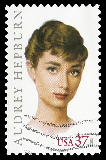 Audrey Hepburn (XXL) - foto de stock