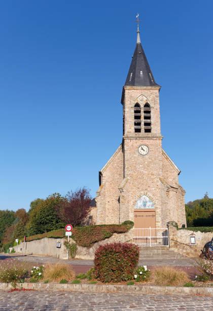 Église Auffargis dans la vallée de Chevreuse - Photo