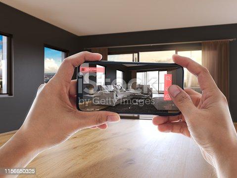 istock Augmented reality 1156650325