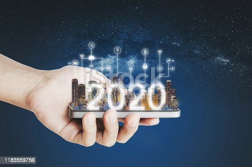 istock 2020 augmented reality technology, new technology and new trend business investment 1183559756