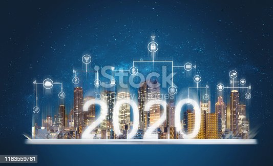 istock 2020 augmented reality technology, new technology and new trend business investment 1183559761