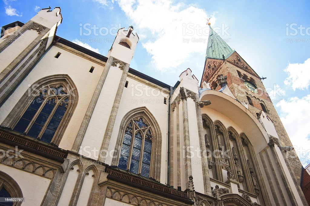 Augsburg Cathedral, Germany stock photo