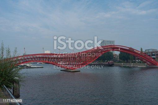 Python Bridge in Amsterdam, the Netherlands