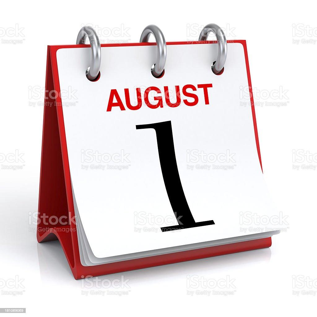 Mese di calendario - foto stock