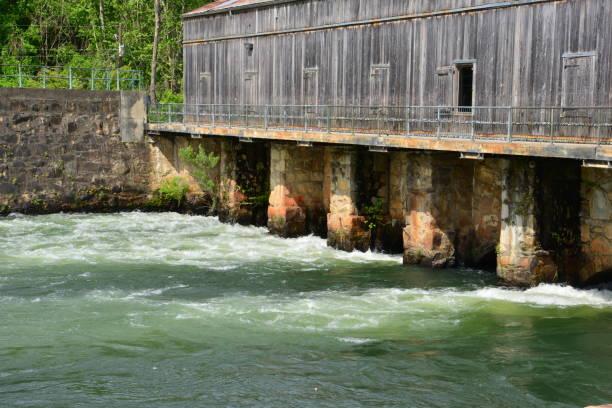Augusta-Kanal in Augusta in Georgien – Foto