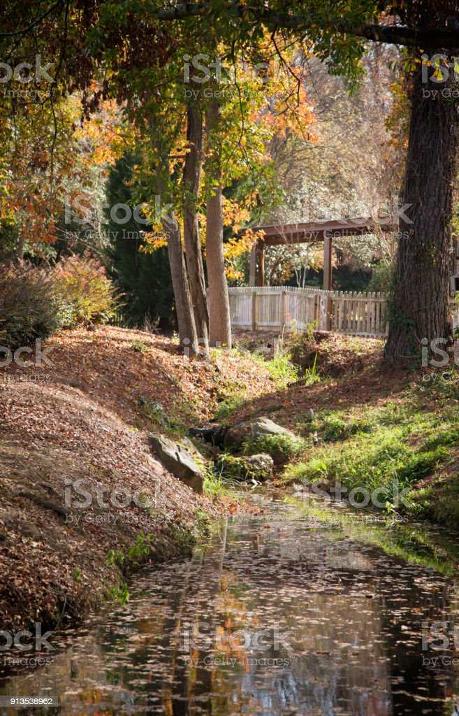 Augusta Creek stock photo
