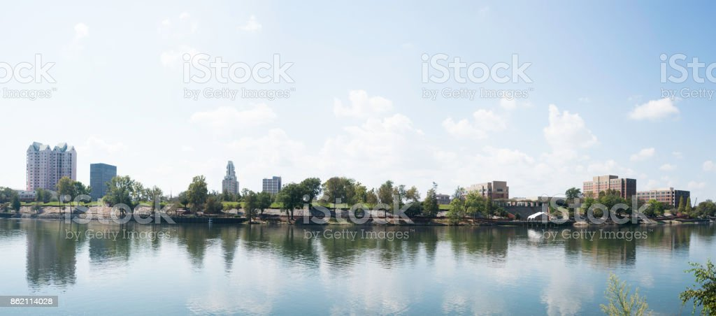 Augusta, Ga. Skyline stock photo