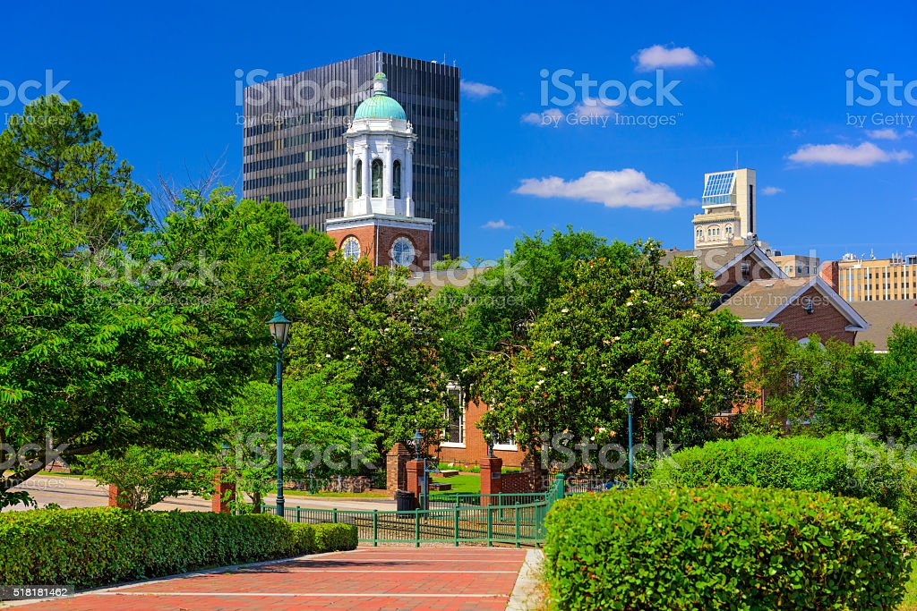 Augusta Georgia Downtown stock photo