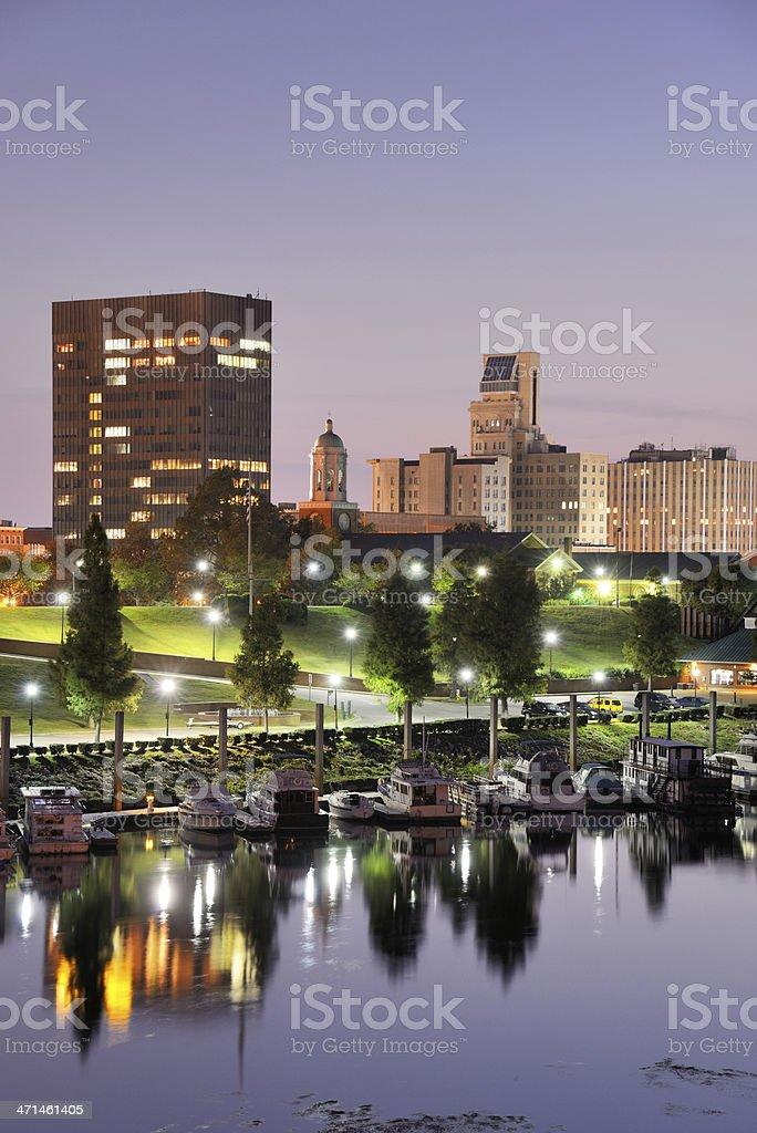 Augusta, Georgia stock photo