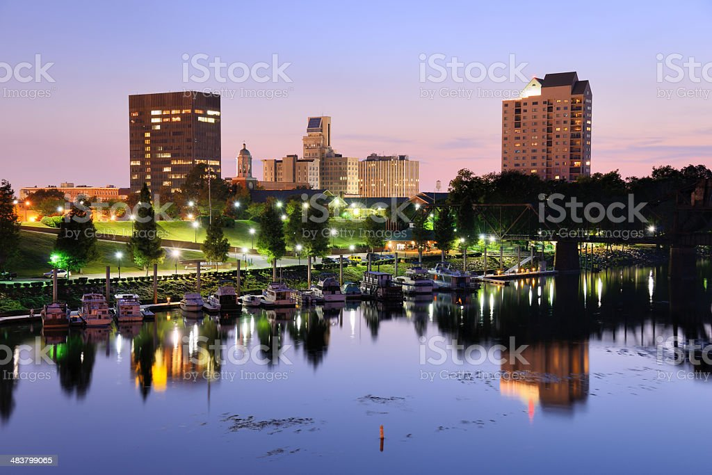 Augusta, Georgia stock photo