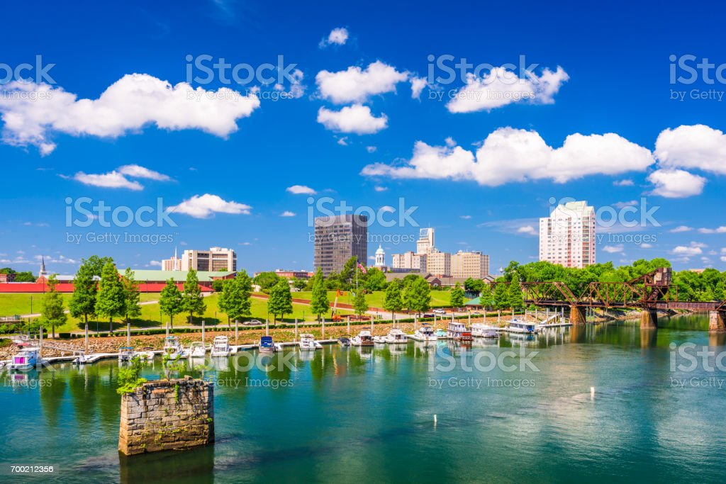 Augusta, Georgia, USA stock photo