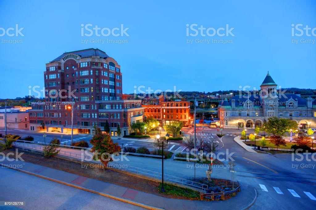 Augusta, Maine stock photo