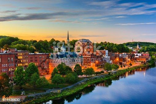 istock Augusta, Maine, USA 614436630