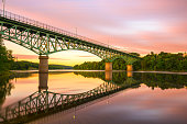 istock Augusta, Maine, USA view on the Kennebec River 1273326540