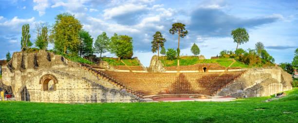 Augusta Raurica, römische Ausgrabungsstätte in der Schweiz Basel Land – Foto