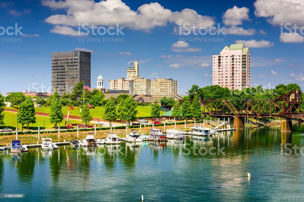 Augusta Skyline stock photo