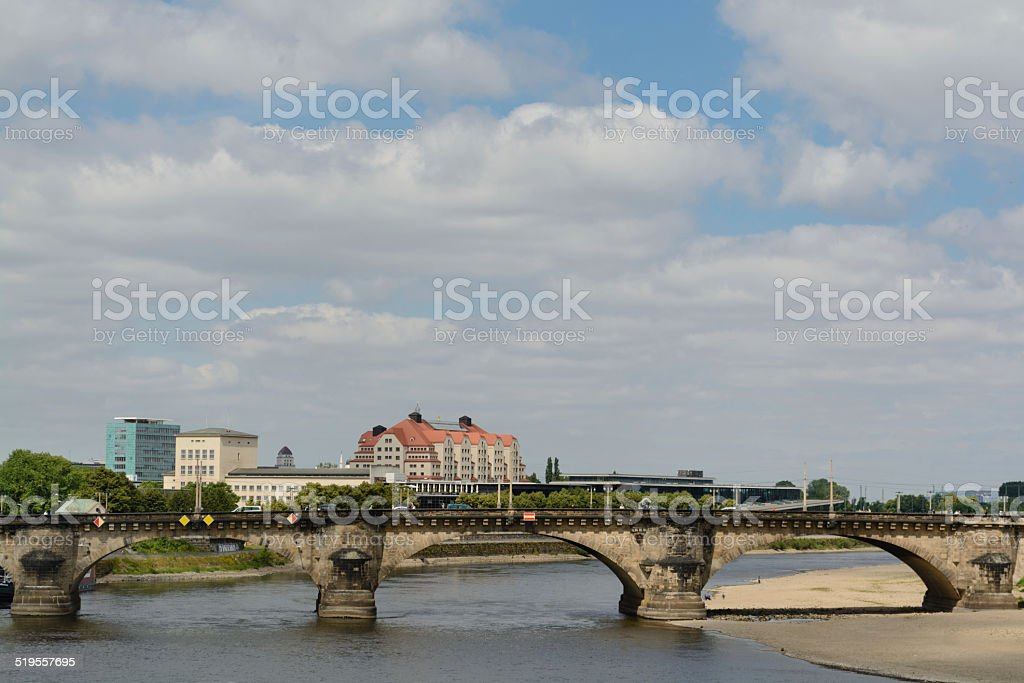 Augustus ponte sobre Elba foto royalty-free