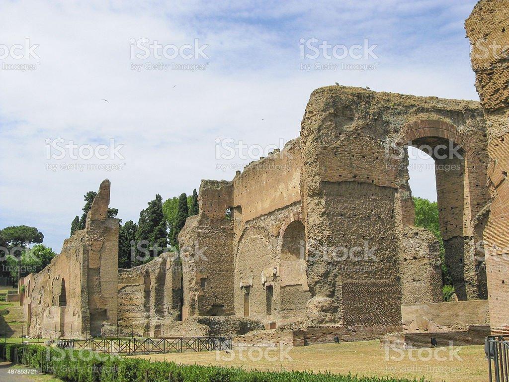 Augustus Mausoleum in Rome stock photo