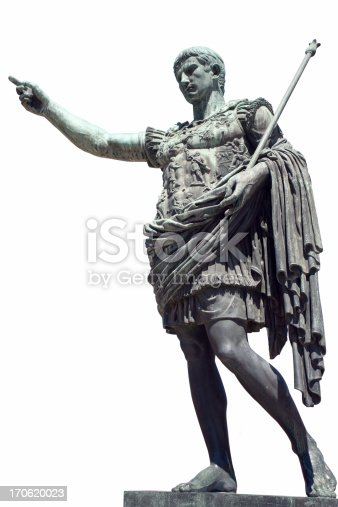 known as Gaius Julius Caesar Octavianus (in English Octavian, Latin: CAIVLIVSACAFACAESARAOCTAVIANVS)  was the first and among the most important of the Roman Emperors.pointing towards eternity - symbol of power and commitment